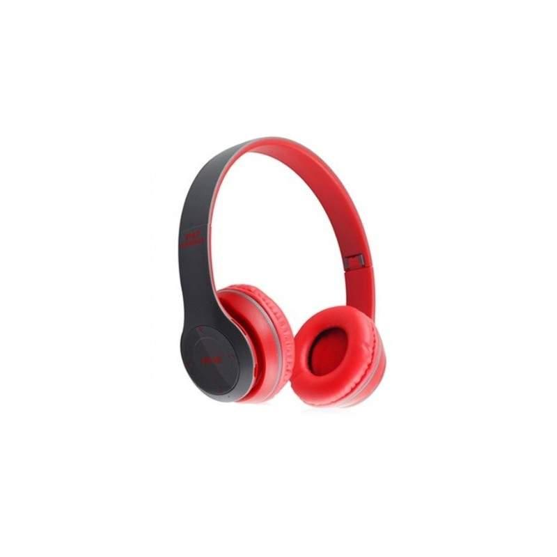 Casti Bluetooth Wireless P47 Rosu