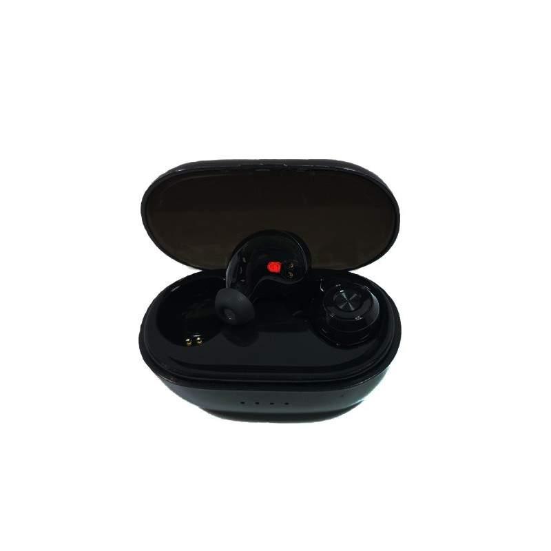 Casti wireless SIKS® bluetooth 5.0, inalta calitate a sunetului, fara fir, negru
