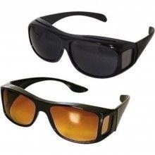 Set ochelari de condus SIKS® de zi si de noapte, 2 bucati