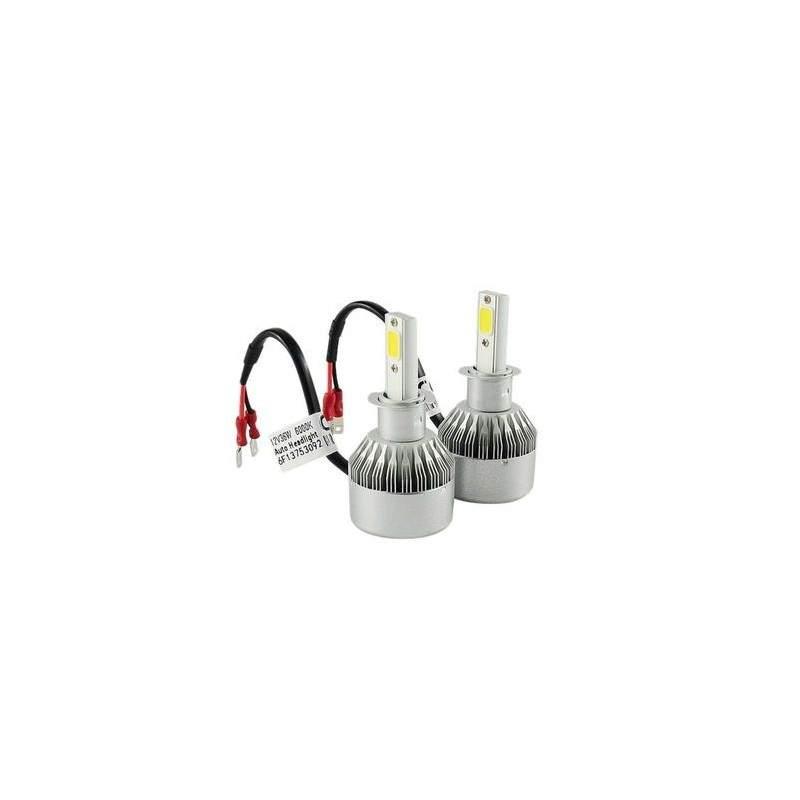 Set 2 LED Auto C6 Rezistent la apa si praf