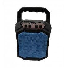 Boxa portabila SIKS® bluetooth, radio FM, MS1612, albastru