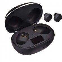 Casti Wireless K28, Bluetooth 5.0, SIKS®, sunet de inalta calitate, reduce zgomotul exterior, Negru