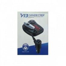 Modulator Fm SIKS® cu casca hands free, bluetooth, oprire automata, negru