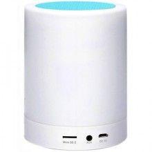 Mini boxa portabila cu lampa LED Multicolora Bluetooth