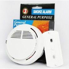 Alarma SIKS® detectoare de fum, incendiu, suprafata de 20m², alb