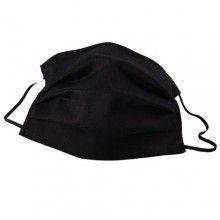 Masca de protectie SIKS® pentru fata, bumbac, reutilizabila, negru