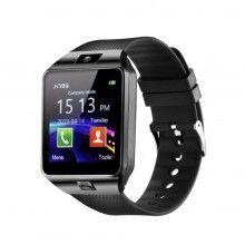 Ceas Smartwatch SIKS® cu functie telefon, Camera si Bluetooth, Negru