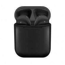 Casti fara fir Wireless SIKS® , Bluetooth 5.0, compatibile cu Android/iOS, sunet 3D, super bass, culoare Negru