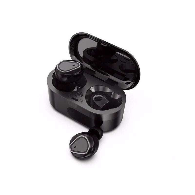 Casti Wireless Bluetooth 5.0 cu super bass si reducerea zgomotului model 208 Negru
