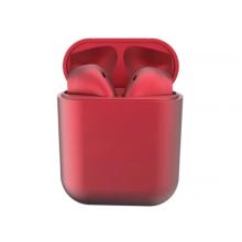 Casti Wireless New Airpods i12 Rezistente la apa Red