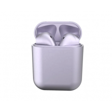 Casti Wireless New Airpods i12 Rezistente la apa Purple