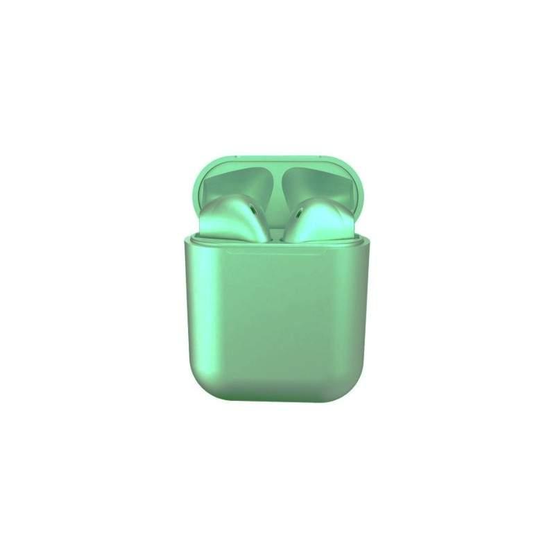 casti Wireless New Airpods i12 Rezistente la apa Green