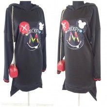 Bluza oversize Mickey Mouse