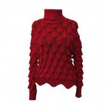 Pulover maleta damă din tricot model deosebit