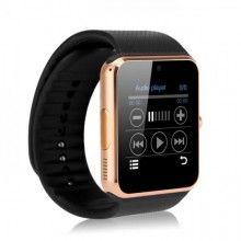 Smartwatch SIKS® Bluetooth, compatibil cu Android si IOS, 64 MB RAM, Negru
