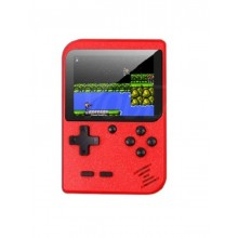 Joc tetris SIKS® 400 de jocuri, retro, consola portabila, rosu