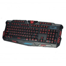 Tastatura gaming tricolora