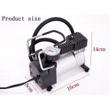 Compresor auto SIKS® 12V, carcasa metalica rezistenta