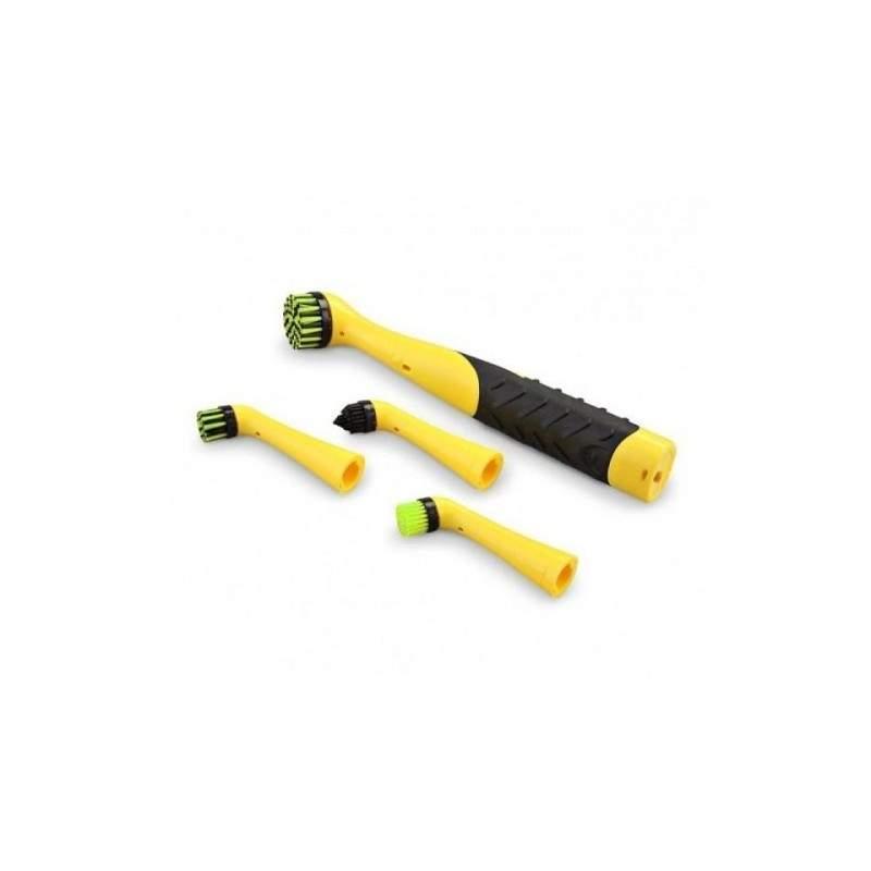 Perie de curatare EDAR® set cu 4 accesorii pentru diverse suprafete si articole