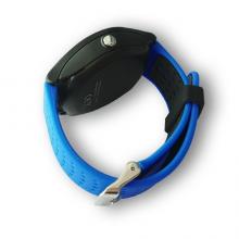 Ceas Smartwatch SMART LIFE cu ecran LCD albastru