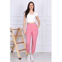 Pantaloni sport dama roz