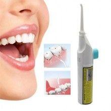 Irigator bucal EDAR® pentru curatare interdentara cu recipient apa, manual