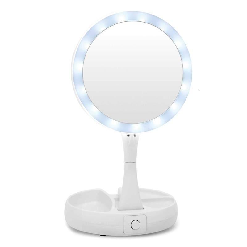 Oglinda cu led 2in1 SIKS, oglinda normala si oglinda cu efect de lupa