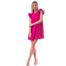 Set rochite mama-fiica fucsia