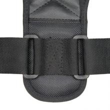 Corset spate EDAR® corector pentru indreptarea coloanei, negru