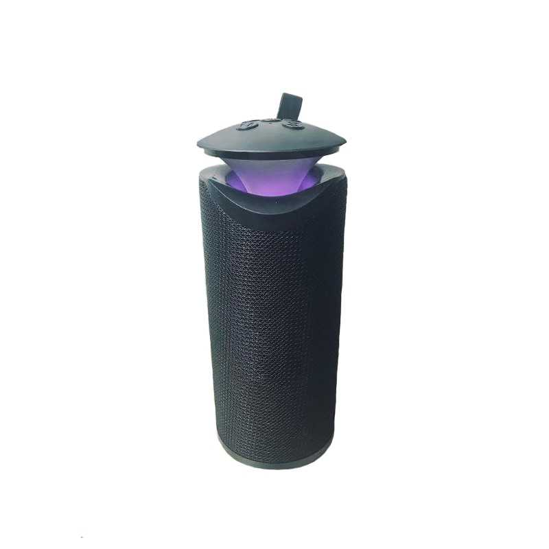 Boxa portabila SIKS® model OZN, sunet stereo, baterie 6000 mAh, negru