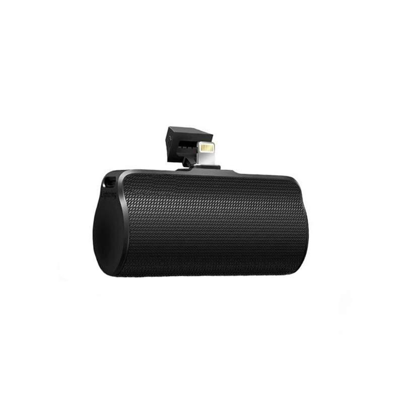 Acumulator extren EDAR® cu capacitate 3300 mAh, pentru iPhone, iPod, fara cablu, negru