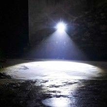 Lanterna de cap EDAR® cu 5 functii led, aluminiu, cu incarcator