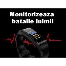 Bratara Fitness Smart Band albastru