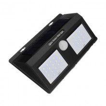 Lampa dubla cu incarcare solara cu 40 LED-uri