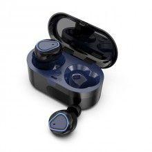 Casti Wireless Bluetooth 5.0 cu super bass si reducerea zgomotului 207 Bleumarin