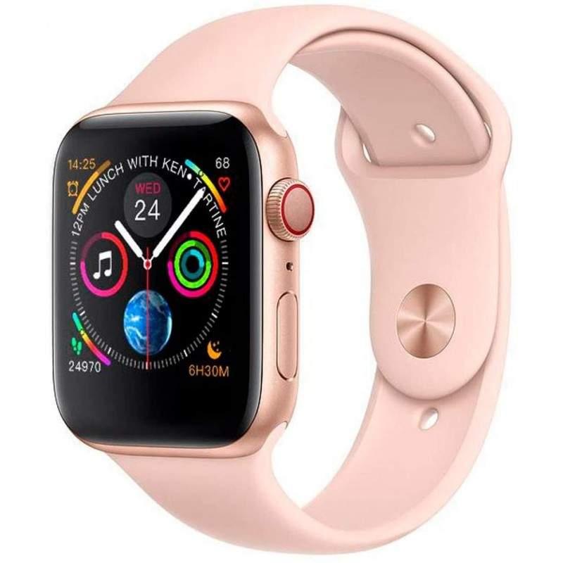 Ceas inteligent EDAR® bluetooth, agenda telefonica, notificari apeluri si mesaje, monitorizarea somnului, ecran tactil, alb