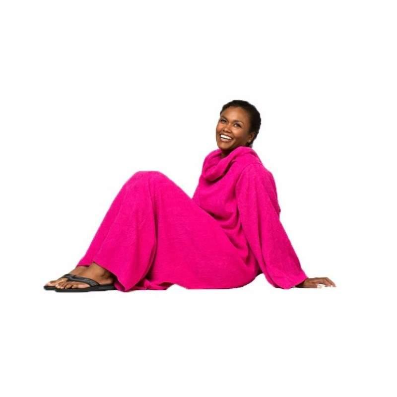 Patura SIKS® maneci, moale si calduroasa, 140x180 cm, roz