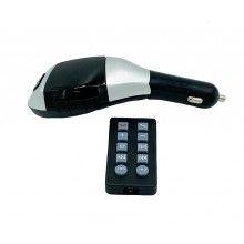 Modulator auto EDAR® bluetooth, FM, MP3 Player, afisaz LCD, MicroSD, USB