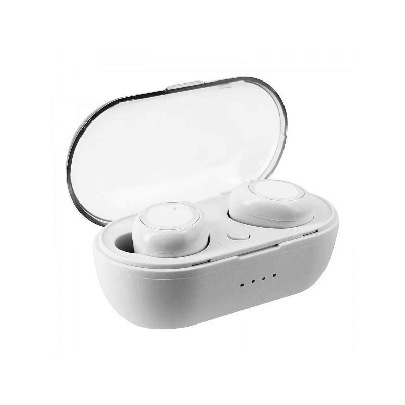 Casti wireless TWS 3 alb