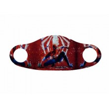 Masca pentru copii cu imprimeu Spiderman rosu