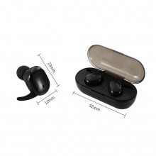 Casti Bluetooth Wireless TWS4 Negre