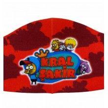 Masca pentru copii cu imprimeu Kral Sakir