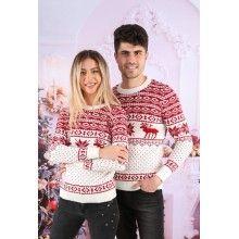 Set pulovere pentru cuplu Winter