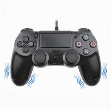 Controller fara fir PS4 Double-motor vibration negru