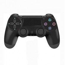 Controler cu fir EDAR® pentru PS4, cu difuzor incorporat, negru