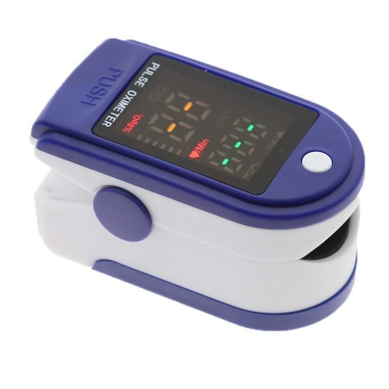 Pulsoximetru pentru deget LK87, masurare nivel oxigen si rata pulsului