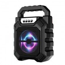 Boxa portabila cu super bass si lumini LED