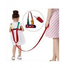 Ham sustinere pentru copii reglabil, fixare pe haine, multicolor