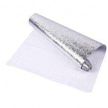 Autocolant bucatarie SIKS® anti-mucegai, anti-bacterian, usor de curatat, aluminiu rezistent, 61x200 cm
