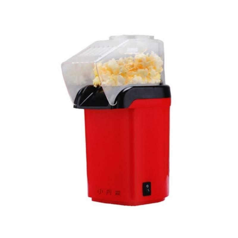 Aparat de facut popcorn, tehnologie cu aer cald, Rosu